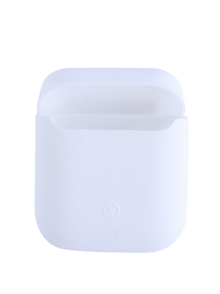 Чехол Krutoff для AirPods Silicon Case With Carbine White 10866