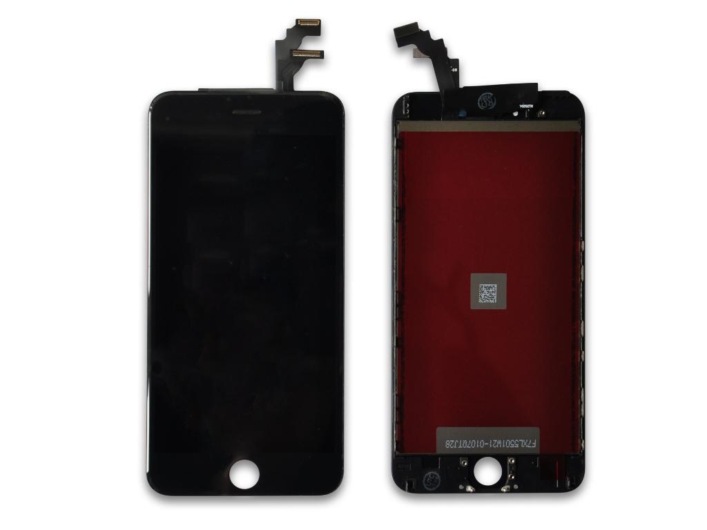 Дисплей RocknParts для APPLE iPhone 6 в сборе с тачскрином Black 632869 цена и фото