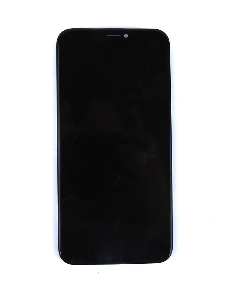 Дисплей RocknParts для APPLE iPhone X в сборе с тачскрином Oled Black 631650