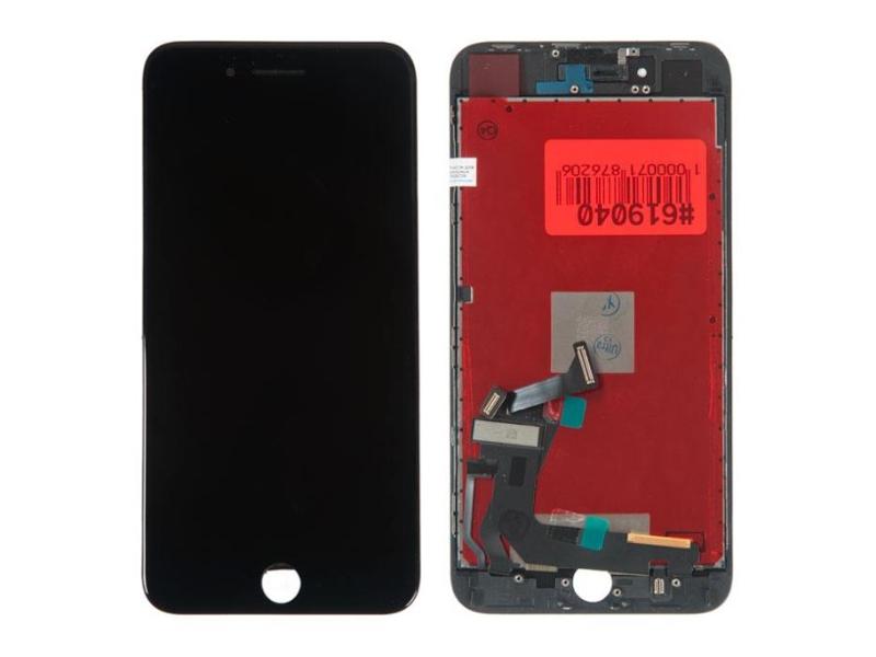 Дисплей RocknParts для APPLE iPhone 8 Plus в сборе с тачскрином Black 619040