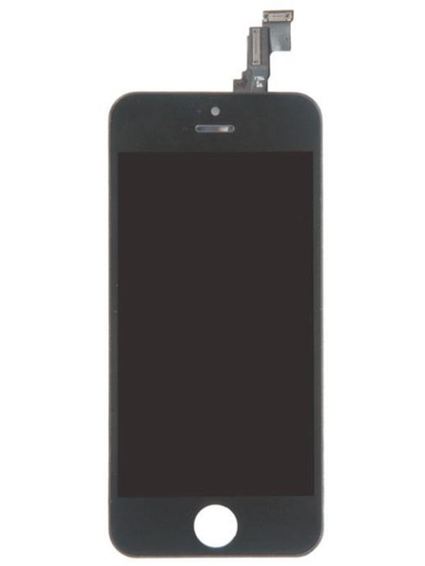 Дисплей RocknParts для APPLE iPhone 5C в сборе с тачскрином Refurbished Black 620864