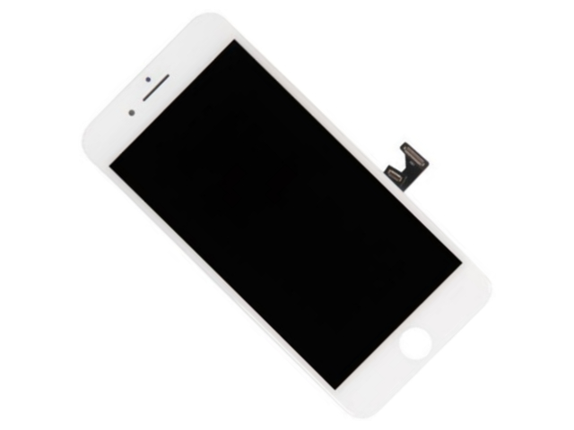 Дисплей RocknParts для APPLE iPhone 8 Plus в сборе с тачскрином White 619042 дисплей rocknparts для apple iphone 7 white 632935