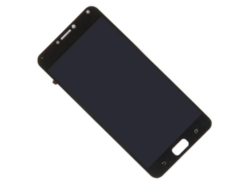 Дисплей RocknParts для Asus ZenFone 4 Max ZC554KL в сборе с тачскрином Black 616491