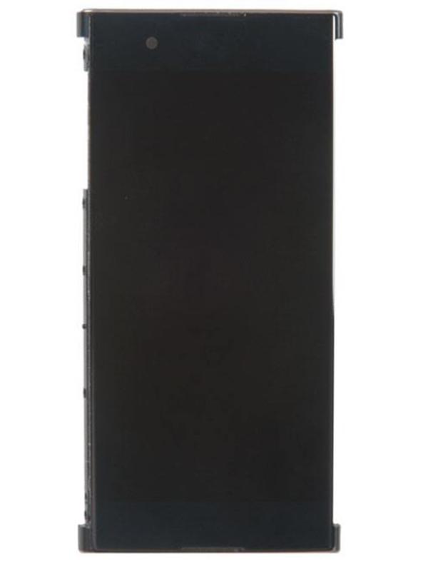 Дисплей RocknParts для Sony Xperia XA1 Plus G3412 в сборе с тачскрином и передней панелью Black 619633