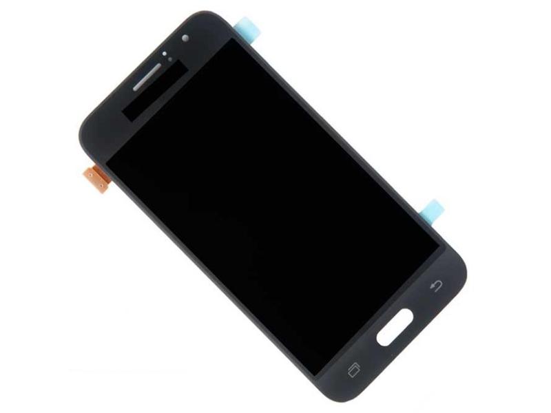 Дисплей RocknParts для Samsung Galaxy J1 SM-J120F 2016 в сборе с тачскрином Black 540396