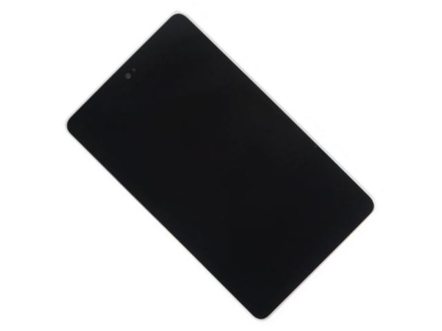 Аксессуар Дисплей RocknParts для Asus Nexus 7 2012 в сборе с тачскрином и рамкой крепления Black 357470