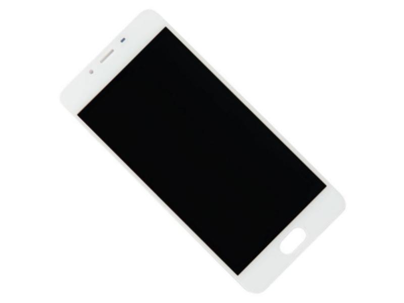 Дисплей RocknParts для Meizu U10 в сборе с тачскрином White 561765