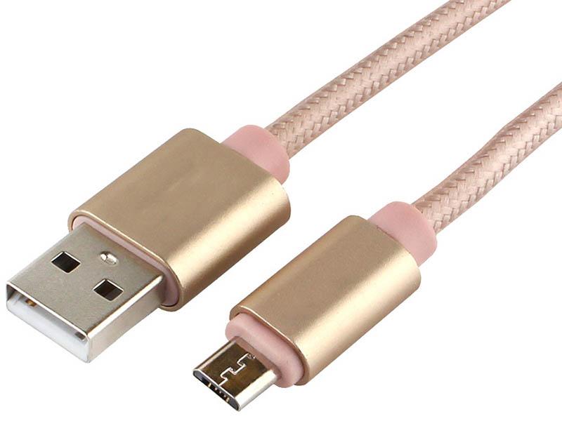 Аксессуар Gembird Cablexpert Ultra USB 2.0 AM/microB 3m Gold CC-U-mUSB02Gd-3M