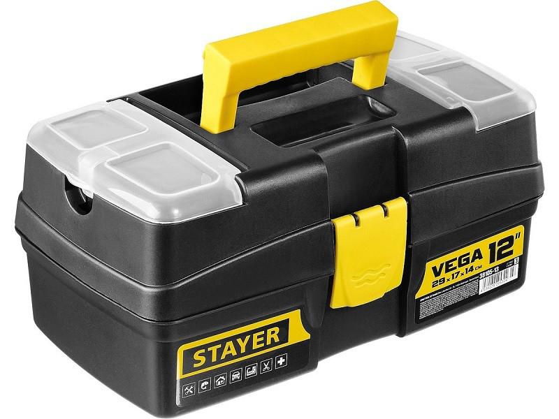 Ящик для инструментов Stayer Vega-12 320x175x160mm 38105-13 / z03
