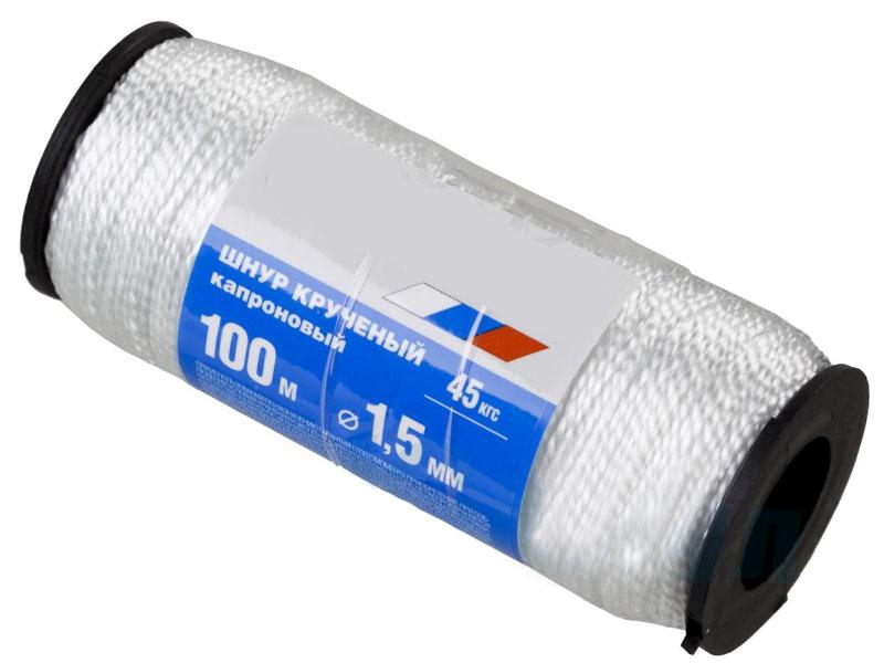 Шнур кручёный Сибин 1.5mm x 100m 50526