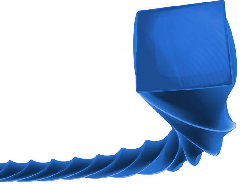 Леска для триммера Oregon Blue Square Twisted 2.4mm x 125m 593203