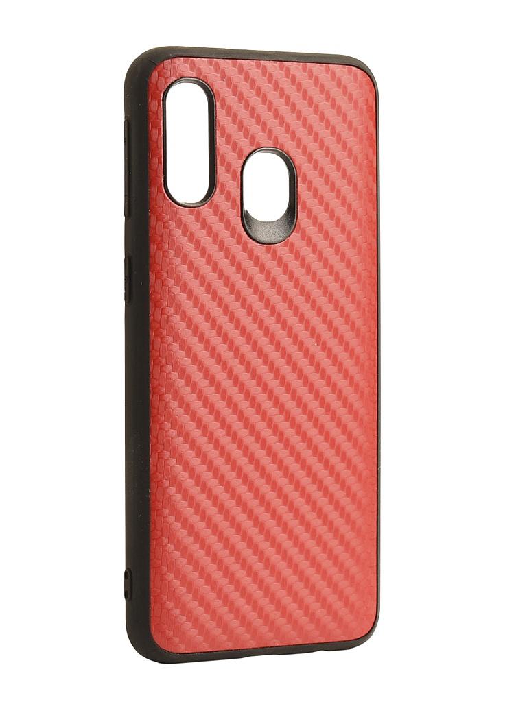 Чехол G-Case для Samsung Galaxy A40 SM-A405F Carbon Red GG-1107 чехол g case для samsung galaxy tab s6 10 5 sm t860 sm t865 slim premium black gg 1166