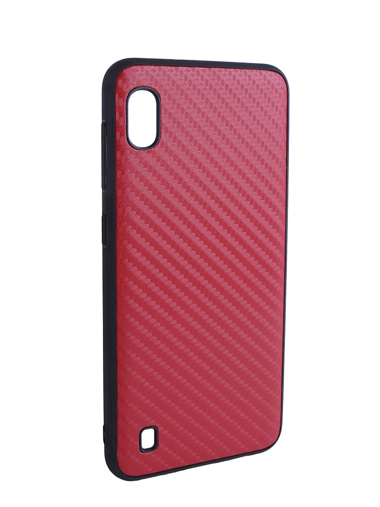 Аксессуар Чехол G-Case для Samsung Galaxy A10 SM-A105F Carbon Red GG-1105 аксессуар чехол g case для samsung galaxy a10 sm a105f carbon dark blue gg 1106