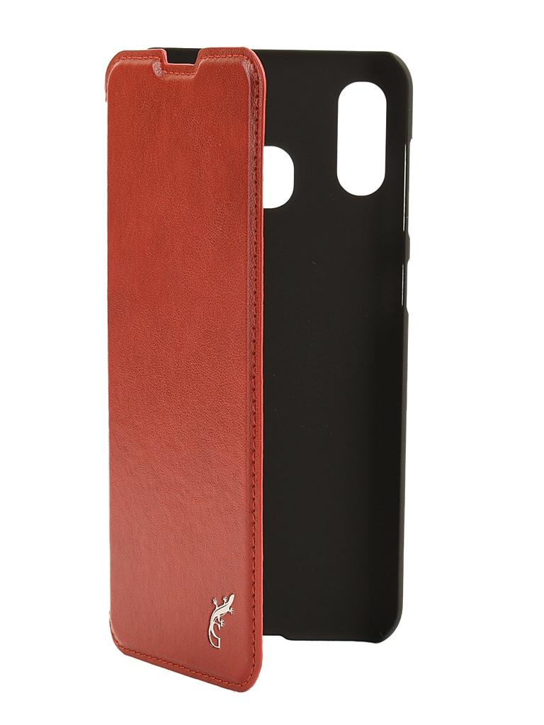 Чехол G-Case для Samsung Galaxy A30 SM-A305F / A20 SM-A205F Slim Premium Red GG-1101 смартфон samsung galaxy a30 2019 sm a305f 64gb синий