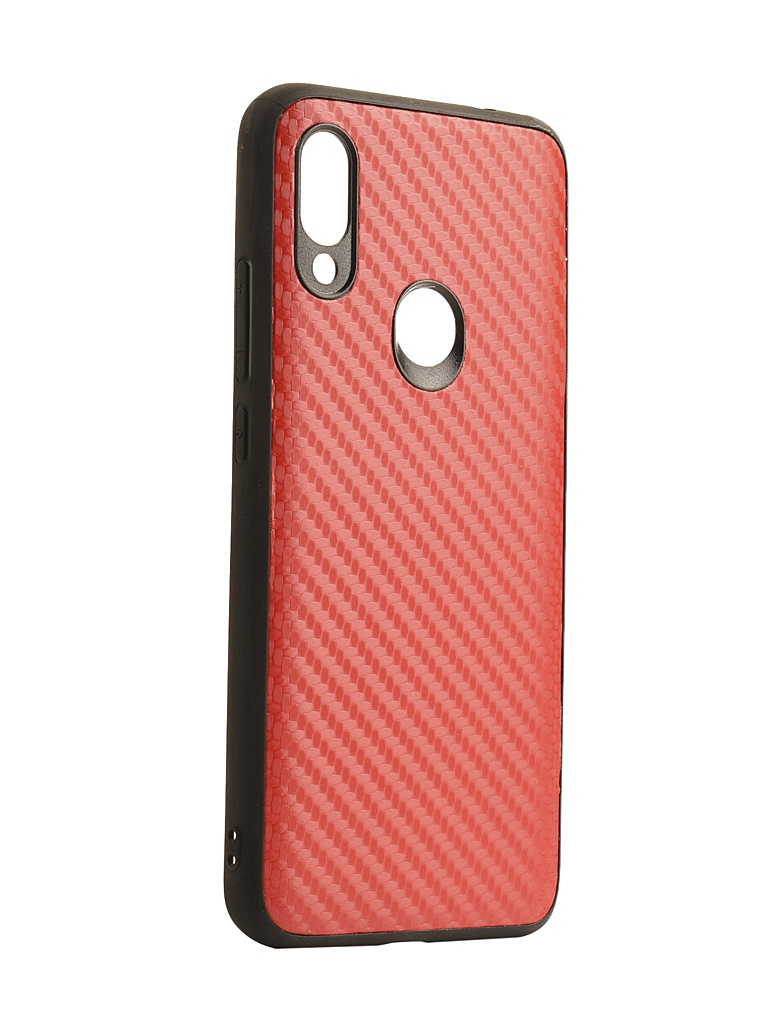Чехол G-Case для Xiaomi Redmi 7 Carbon Red GG-1078