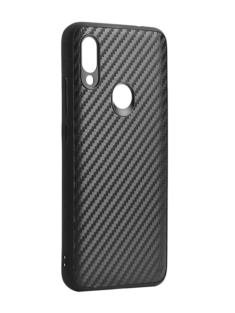 Аксессуар Накладка G-Case для Xiaomi Redmi 7 Carbon Black GG-1077