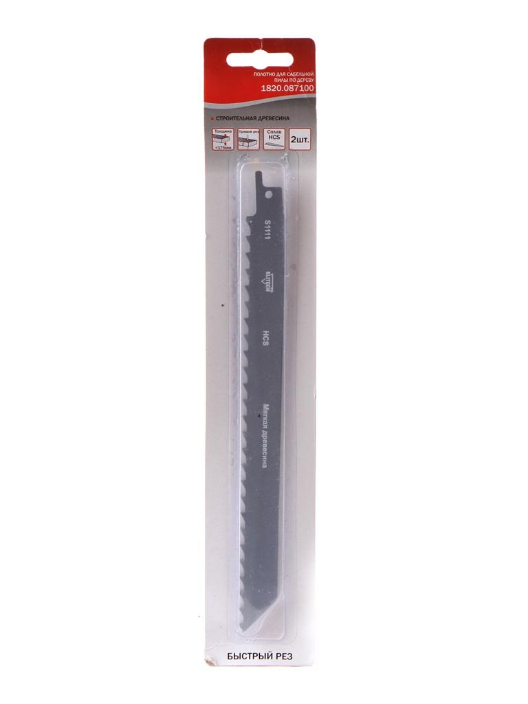 Полотно Elitech 210mm для строительной древесины 2шт 1820.087100