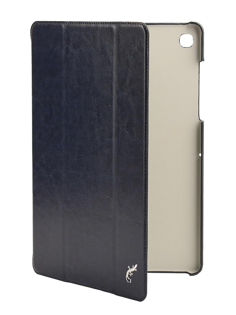 Аксессуар Чехол G-Case для Samsung Galaxy Tab S5e 10.5 SM-T720 / SM-T725 Slim Premium Dark Blue GG-1097 dailydog сухой корм dailydog puppy large breed для щенков крупных пород с курицей и рисом 12 кг