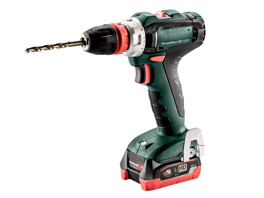 Электроинструмент Metabo PowerMaxx BS 12 Q 4.0Ач х2 LiHD кейс