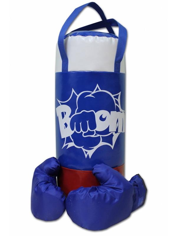 Набор для бокса Belon Патриот груша с перчатками BOOM НБ-001-Ф/ПР1