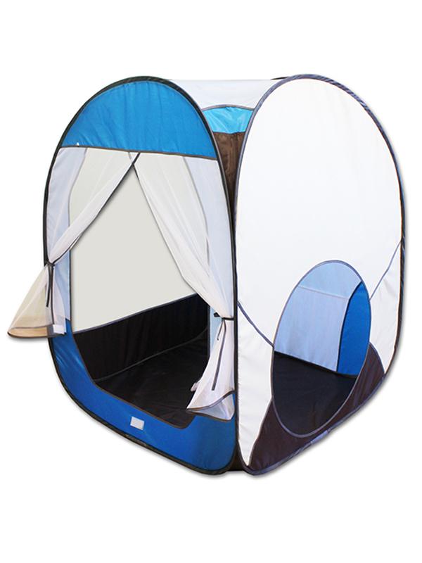 Палатка Belon Радужный домик Blue-White ПИ-004КУ-СТ4