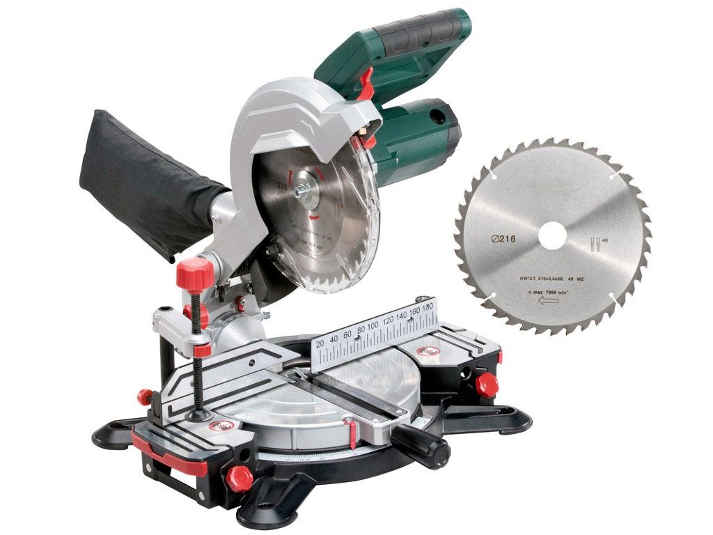 Пила Metabo KS 216 M Lasercut + пильный диск 690874000