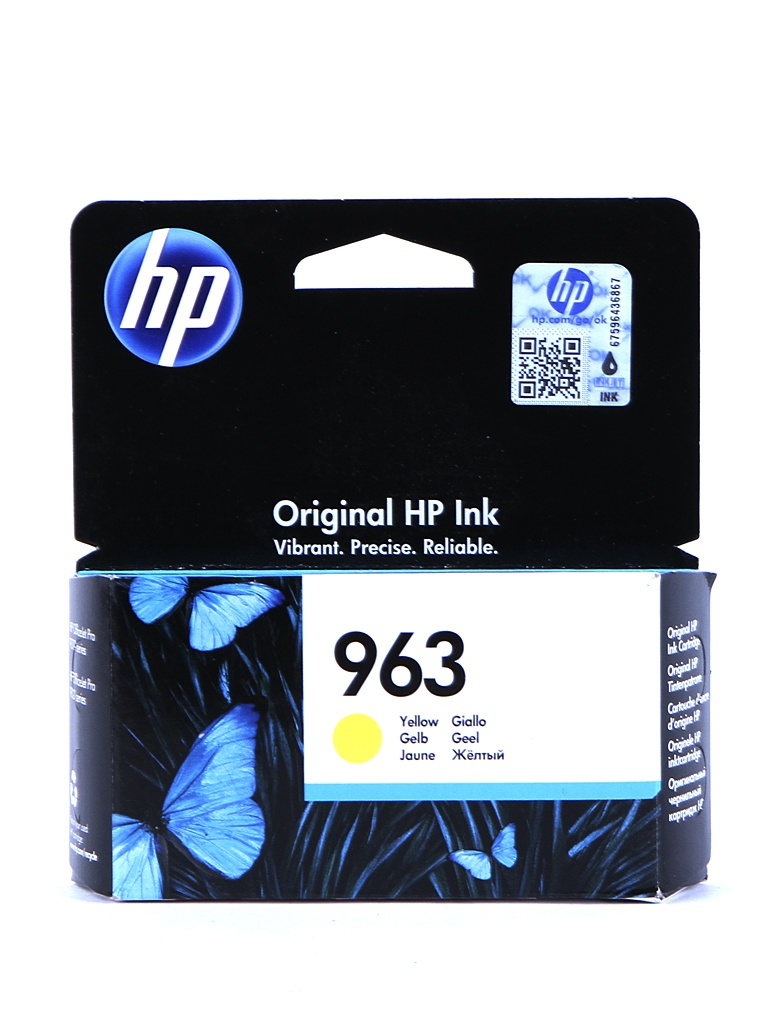 Картридж HP 963 3JA25AE Yellow