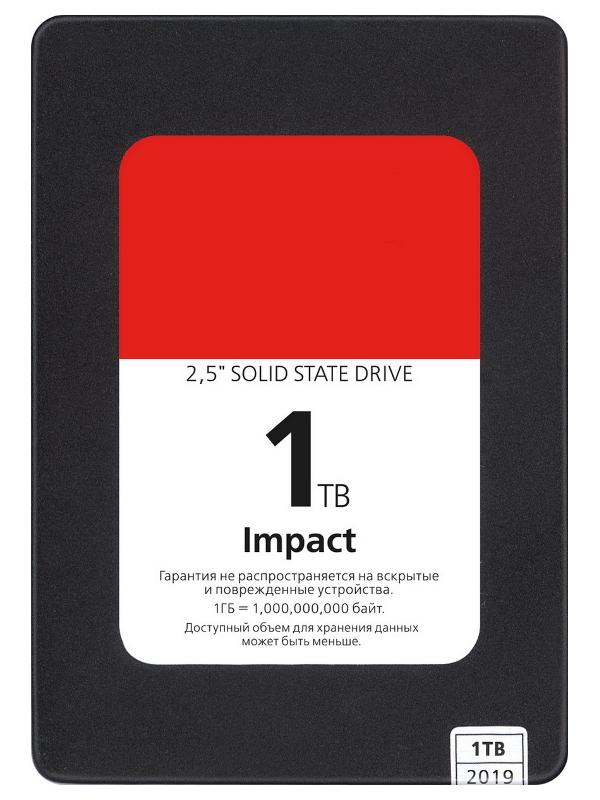 Жесткий диск SmartBuy Impact 1Tb SBSSD-001TT-PH12-25S3