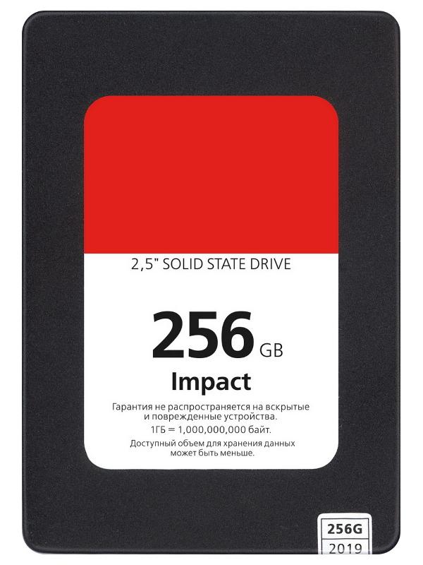 Жесткий диск SmartBuy Impact 256Gb SBSSD-256GT-PH12-25S3