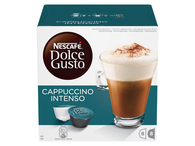 Капсулы Nescafe Dolce Gusto Cappuccino Intenso 16шт