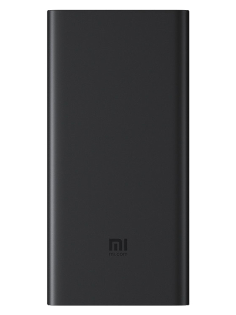Внешний аккумулятор Xiaomi Mi Power Bank Wireless Charger 10000mAh Black for Lightning Phones PLM11ZM Выгодный набор + серт. 200Р!!! внешний аккумулятор xiaomi zmi power bank qb810 10000mah tiffany for lightning phones выгодный набор серт 200р
