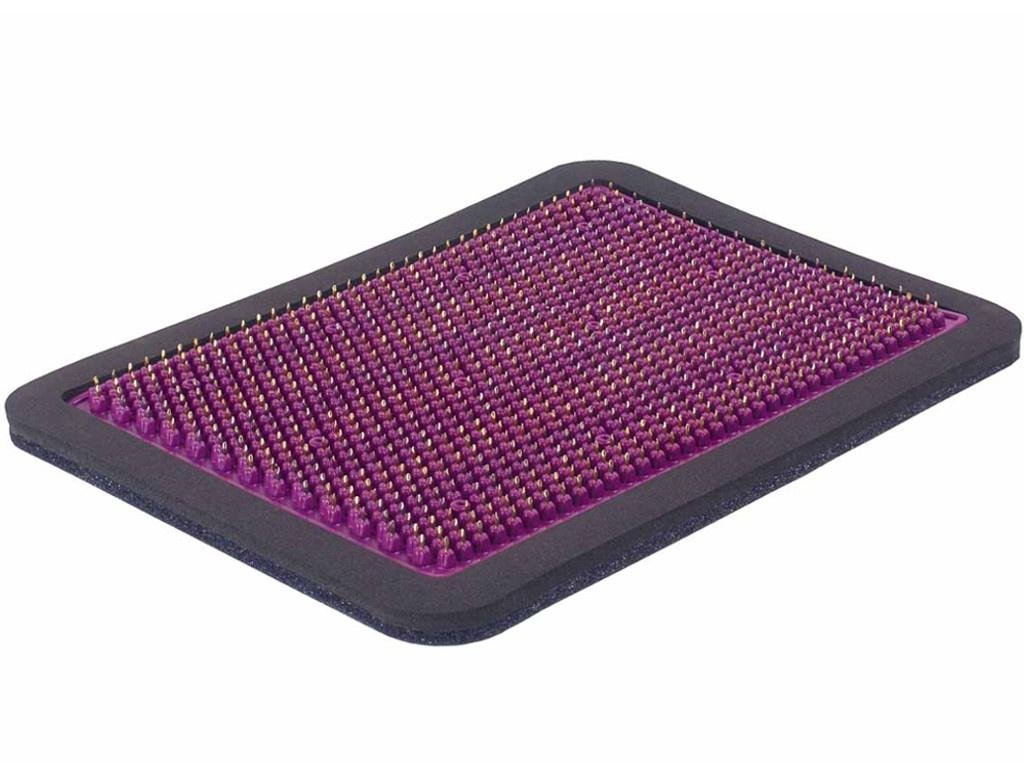 Аппликатор Тибетский аппликатор Кузнецова металломагнитный на мягкой подложке полиметаллический 15х22см Violet ММ29