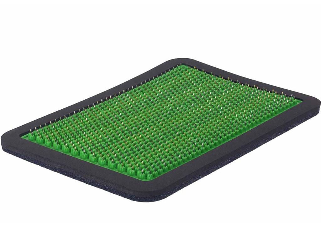 Аппликатор Тибетский аппликатор Кузнецова металломагнитный на мягкой подложке полиметаллический 15х22см Green ММ28