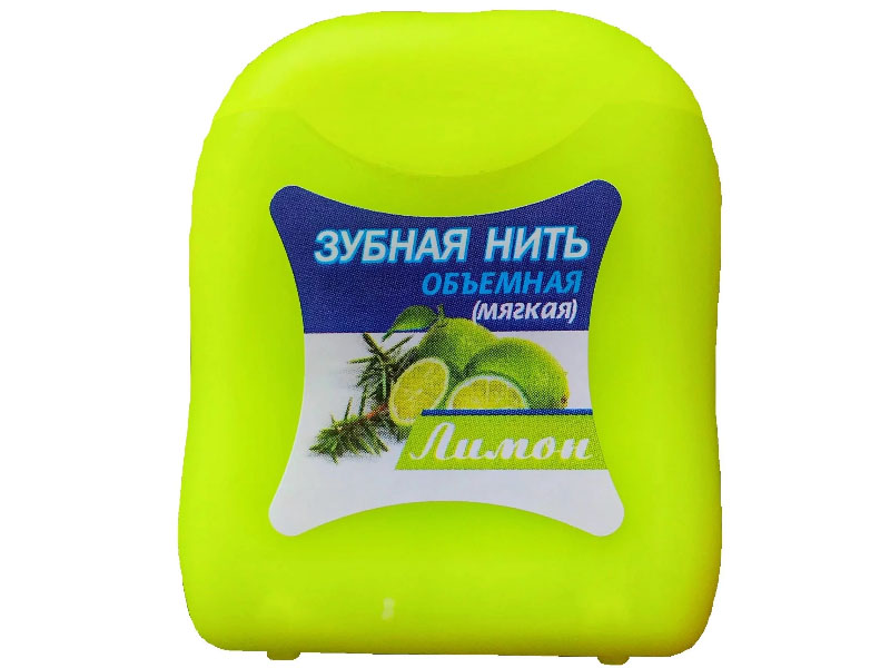 Зубная нить Donfeel Лимон