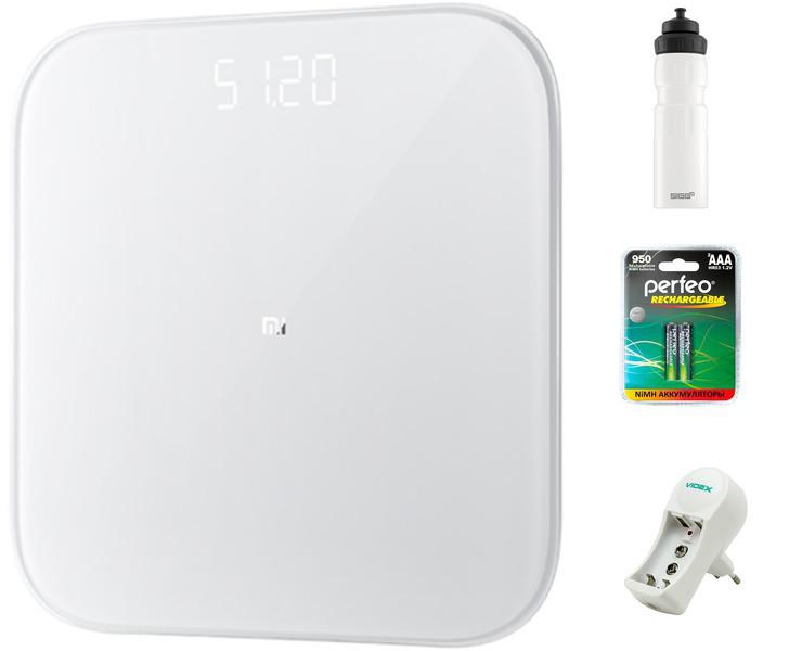 Весы напольные Xiaomi Mi Weight Scale 2 XMTZC04HM Выгодный набор + серт. 200Р!!!