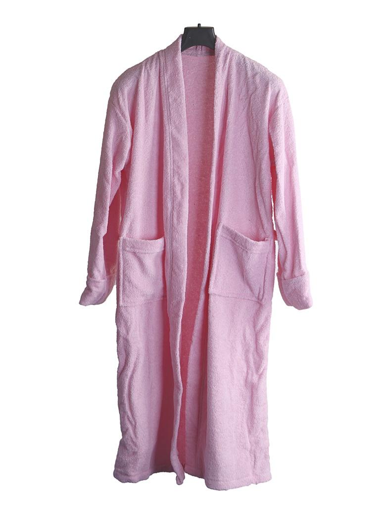 Халат Бацькина баня р.46-50 Pink 14126