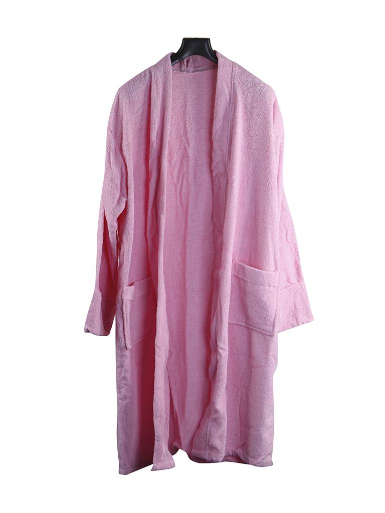 Халат Бацькина баня р.50-54 Pink 14127