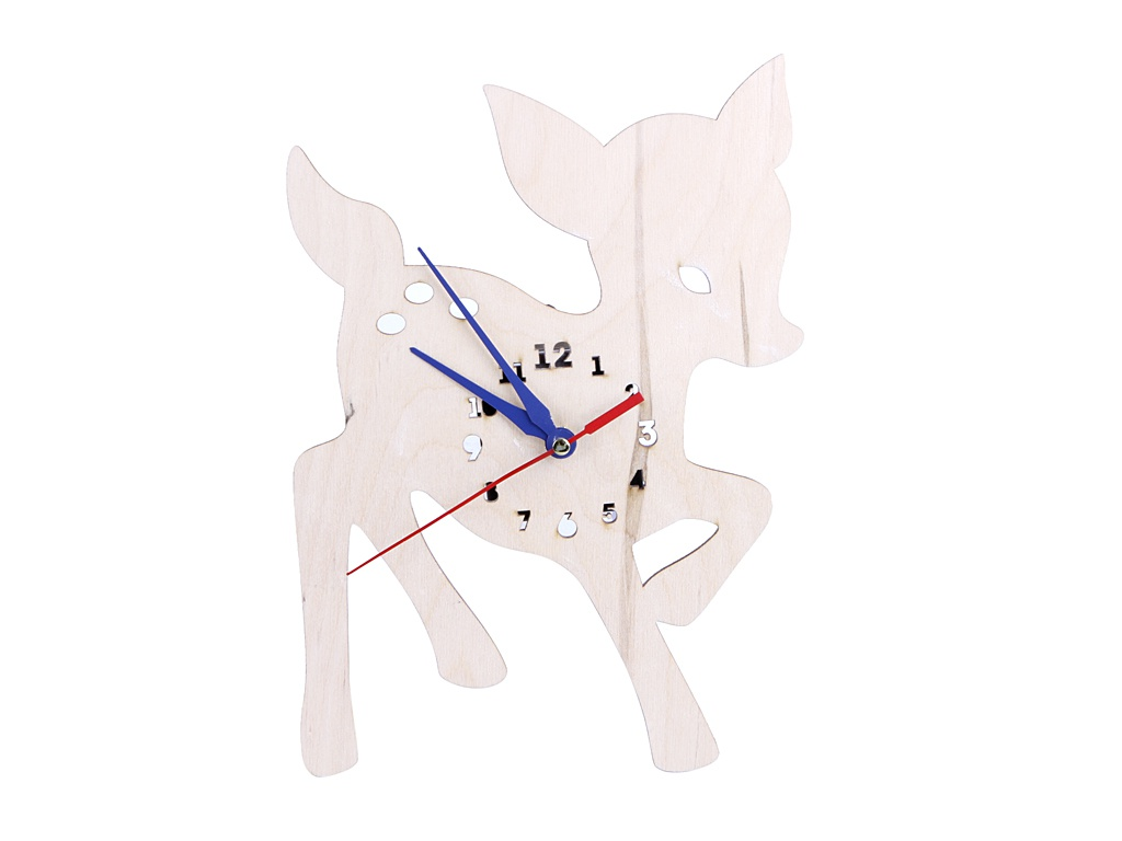 Часы Бацькина баня Олененок 30609