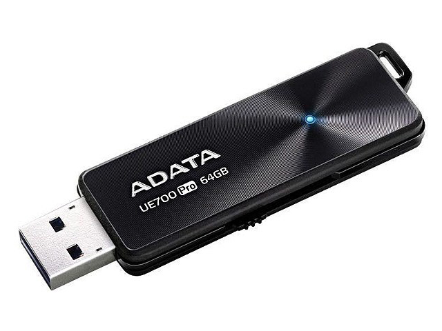 USB Flash Drive 64Gb - A-Data UE700 Pro Black AUE700PRO-64G-CBK