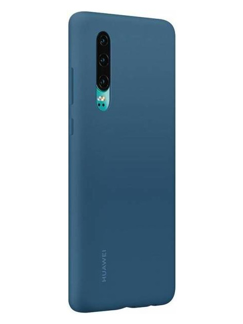 Чехол для Huawei P30 Silicon Case Blue 51992850