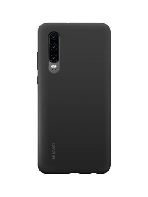 Аксессуар Чехол для Huawei P30 Silicon Case Black 51992844