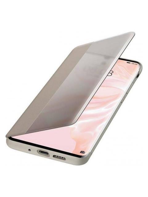 Чехол для Huawei P30 Pro Smart View Flip Cover Khaki 51992886 цена и фото