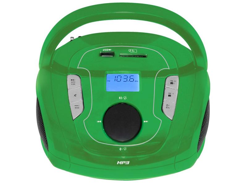 Магнитола TELEFUNKEN TF-SRP3471Gr Green цена и фото
