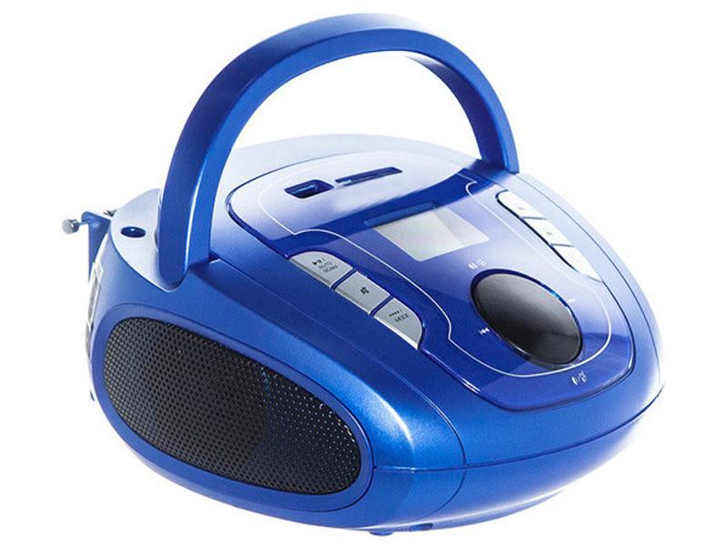 Магнитола TELEFUNKEN TF-SRP3471B Blue цена и фото