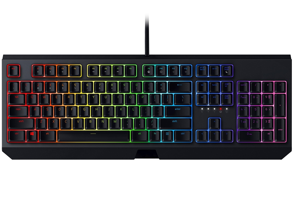 Клавиатура Razer Blackwidow Black RZ03-02861100-R3R1 клавиатура razer blackwidow tournament 2014 черный rz03 00811900 r3r1