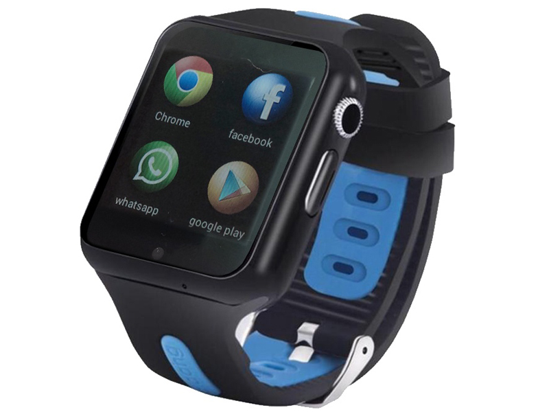 Smart Baby Watch SBW 3G Black-Light Blue