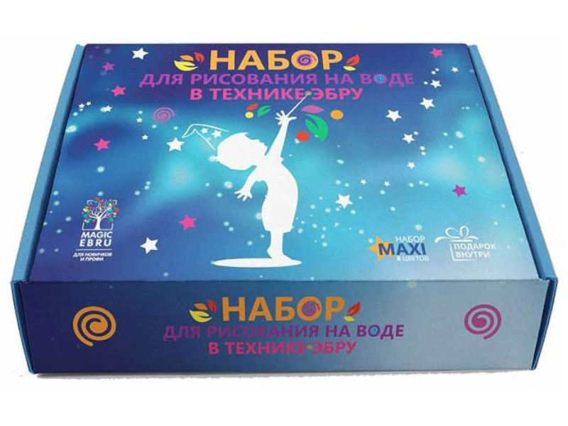 Набор для рисования на воде Игрушки под подушкой Magic Ebru Maxi