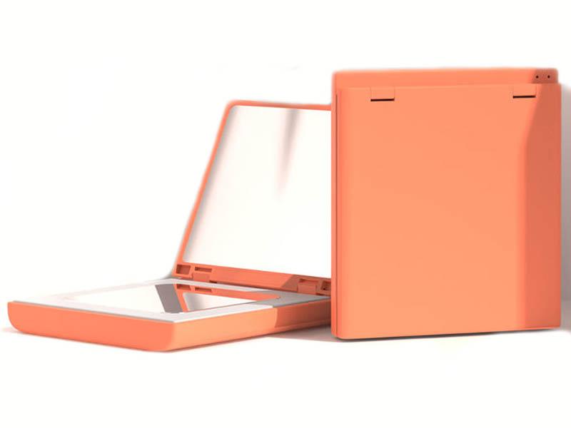 Зеркало Xiaomi VH Portable Beauty Mirror M01 Orange