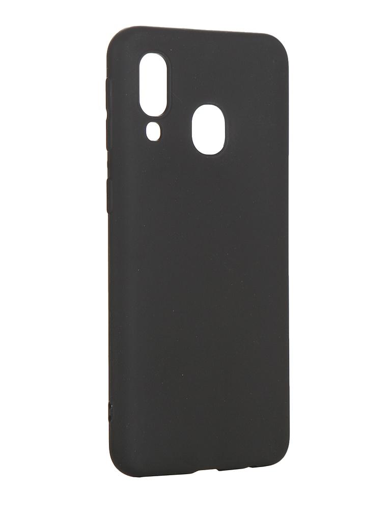 Аксессуар Чехол Svekla для Samsung A40 Silicon Transparent SV-SGA405FD-MBL