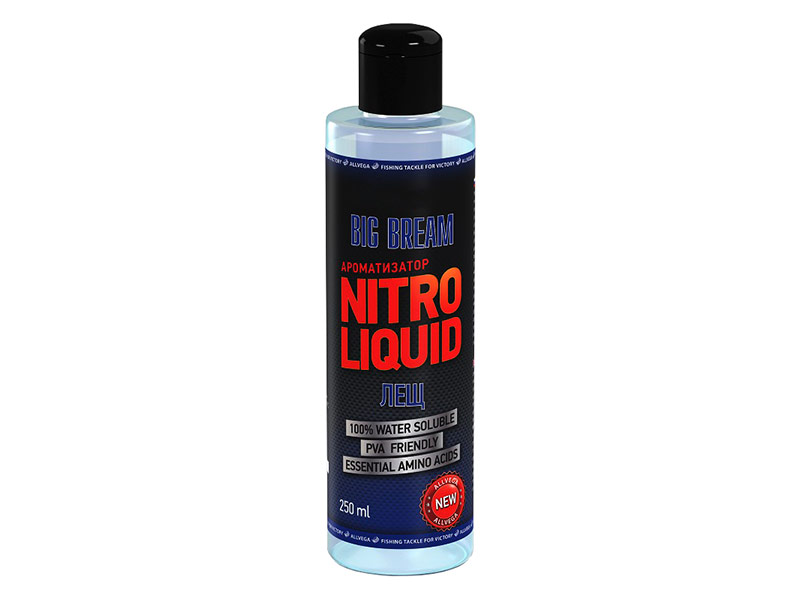 Ароматизатор Allvega Nitro Liquid Big Bream 250ml ARNL250-BGB